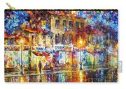 Colors Of Emotions - Palette Knife Oil Painting On Canvas By Leonid Afremov Carry-all Pouch