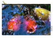 Colors Of Koi Carry-all Pouch