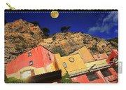 Colors Of Liguria Houses - Facciate Case Colori Di Liguria 3 Carry-all Pouch
