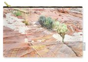 Colors Of Wash 3 In Valley Of Fire Carry-all Pouch