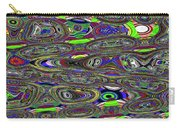 Colors Rolled And Flattened Abstract Carry-all Pouch