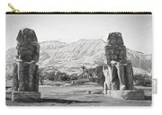 Colossi Of Memnon 2 Carry-all Pouch