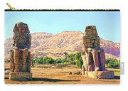 Colossi Of Memnon Carry-all Pouch