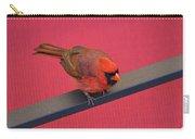 Colour Me Red - Northern Cardinal - Cardinalis Cardinalis Carry-all Pouch