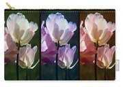 Coloured Tulips Carry-all Pouch
