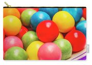 Colourful Bubblegum Candy Balls Carry-all Pouch