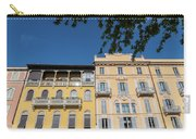 Colourful Facade Of Traditional Buildings In Como, Italy Carry-all Pouch