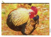 Colourful Hen Carry-all Pouch