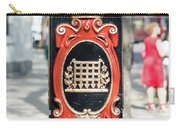 Colourful Lamp Post With The City Of Westminster Coat Of Arms London Carry-all Pouch