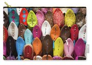 Colourful Morroccan Slipper Carry-all Pouch
