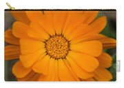 Colourful Orange Signet Marigold  Carry-all Pouch