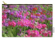 Colourful Primula Candelabra At Wisley Gardens Surrey Carry-all Pouch