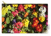 Colourful Spring Flowers Carry-all Pouch