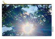 Colourful  Sunburst Carry-all Pouch
