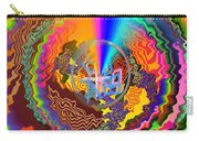 Colourful Swirl Of Goodluck Carry-all Pouch