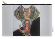 Colours In An Elephant Carry-all Pouch