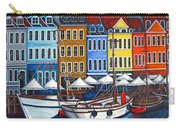 Colours Of Nyhavn Carry-all Pouch by Lisa  Lorenz