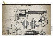 Colt .45 Peacemaker Revolver Patent  1875 Carry-all Pouch