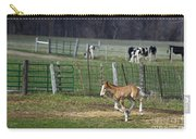 Colt Play With Hay Carry-all Pouch