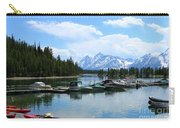 Colter Bay On Jackson Lake  Carry-all Pouch