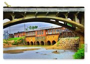 Columbia Canal At Gervais Street Bridge Carry-all Pouch by Lisa Wooten