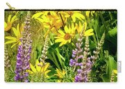 Columbia Gorge Wildflowers Carry-all Pouch
