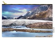 Columbia Ice Field And Athabaska Glacier Carry-all Pouch