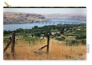 Columbia River - Biggs And Maryhill State Park Carry-all Pouch by Carol Groenen