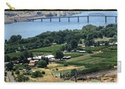 Columbia River And Biggs Bridge Carry-all Pouch