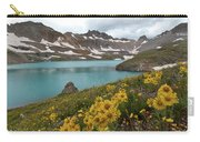 Columbine Lake And Alpine Sunflower Landscape Carry-all Pouch
