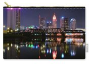 Columbus Ohio Reflecting In The Scioto River Carry-all Pouch