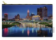 Columbus Ohio Skyline At Night Carry-all Pouch