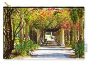 Column Flowers Carry-all Pouch