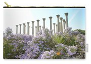 Column Flowers To The Sky Carry-all Pouch