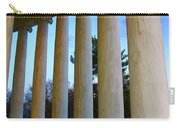 Columns At Jefferson Carry-all Pouch by Megan Cohen