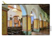 Columns At San Juan Bautista Mission Carry-all Pouch