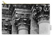 Columns Of St. Roch Church Watercolor Carry-all Pouch