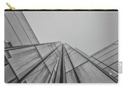 Comcast Center Inside Corner - Philadelphia Gritty Black And Whi Carry-all Pouch