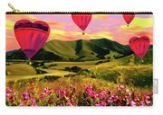 Come Fly With Me Carry-all Pouch by Kurt Van Wagner