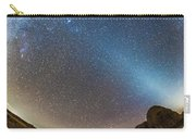 Comet Lovejoy And Zodiacal Light Carry-all Pouch