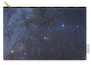 Comet Lovejoy In The Winter Sky Carry-all Pouch