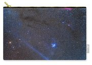 Comet Lovejoys Long Ion Tail In Taurus Carry-all Pouch