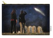 Comet Over The City Carry-all Pouch