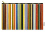 Comfortable Stripes Carry-all Pouch by Michelle Calkins