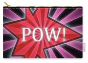 Comic Book Pow Carry-all Pouch
