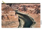 Coming Around Horseshoe Bend Page Arizona Colorado River  Carry-all Pouch