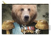 Commander Bear Carry-all Pouch