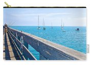 Commercial Pier On Monterey Bay-california  Carry-all Pouch