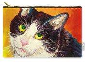 Commission Your Pets Portrait By Artist Carole Spandau Bfa Ecole Des Beaux Arts  Carry-all Pouch