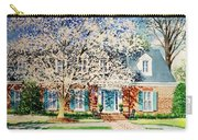 Commissioned House Portrait  Carry-all Pouch